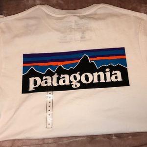 NWT Patagonia White Tee